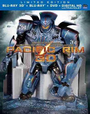 Blu Ray Titanes Del Pacífico 3d - 2d - Edición Coleccíon