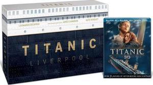 Blu Ray Titanic Edición Colección 3d-2d - En Stock -