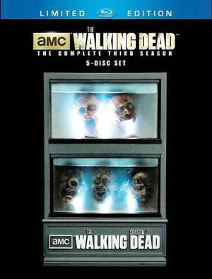 Blu Ray Walking Dead: Tercera Temporada - Stock - Sellado