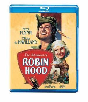 Blu-ray Original Las Aventuras De Robin Hood Errol Flynn '38