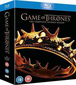 Game Of Thrones 2 / Juego De Tronos Temporada 2 - Bluray !!