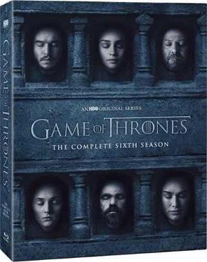 Game Of Thrones 6- Juego De Tronos Temporada 6 Blu Ray- 2016