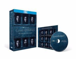 Game Of Thrones / Juego De Tronos 6 Disco Bonus Bluray !