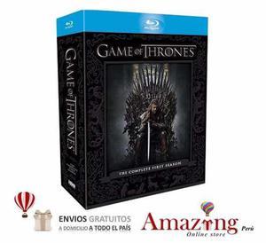 Game Of Thrones Juego De Tronos Temporada 1 Blu Ray Amazing