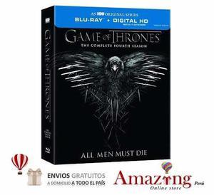 Game Of Thrones Juego De Tronos Temporada 4 Blu Ray Amazing