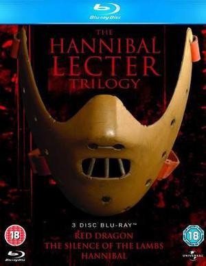 Hannibal Lecter La Trilogia / Bluray Nuevo Y Sellado !!!