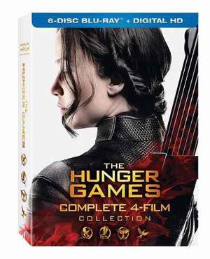 Hunger Games / Juegos Del Hambre - 4 Películas - Blu-ray