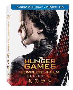 Hunger Games / Juegos Del Hambre - Coleccion Completa Bluray