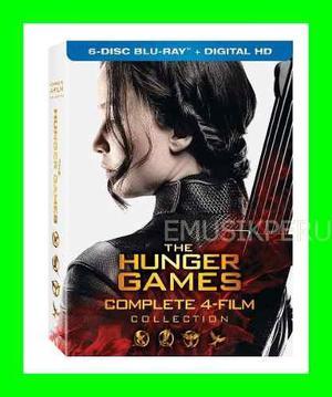 Hunger Games Juegos Del Hambre Coleccion Completa Bluray Emk