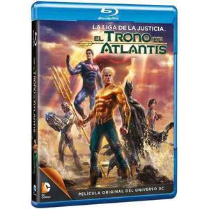 Liga De La Justicia El Trono De Atlantis [blu-ray] Dc Comics