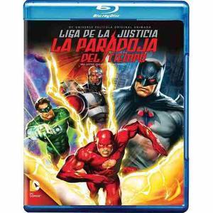 Liga De La Justicia La Paradoja Del Tiempo [blu-ray] Dc