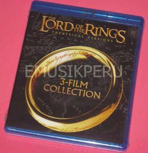 Señor De Los Anillos Trilogia - Lord Of The Rings - Emk