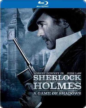 Sherlock Holmes: Juego De Sombras Bluray Steelbook_stock