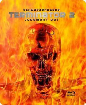 Terminator 2 Blu Ray Steelbook 2016 Estuche De Metal