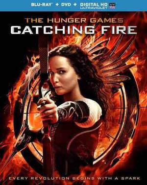 The Hunger Games: En Llamas / Juegos Del Hambre - Bluray !!