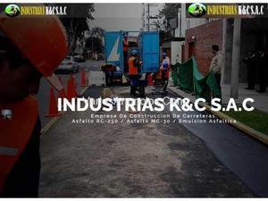Venta De Asfalto Rc-250,brea Liquida En Lima& Provincias