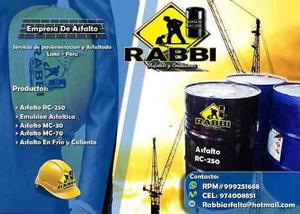 Venta De Asfalto¡rc 250*mc 30! Imprimante /emulsion Asfalti