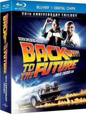 Volver Al Futuro Trilogía 25aniversario En Bluray Amazing