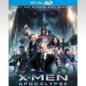 X-men: Apocalypse Blu-ray 3d, 2d, 4k - Nuevo Sellado-set´16