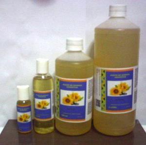 Aceite De Girasol Cosmetico 100% Puro Vitamina E 500ml