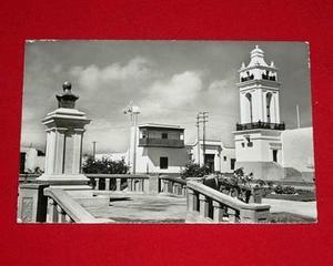 Antigua Postal Balcón Huaura Perú San Martín Swiss Foto