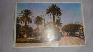 Antigua Postal De La Plaza Principal De Tacna -peru 1976