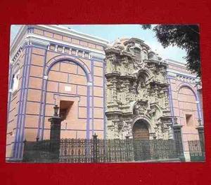 Antigua Postal Iglesia San Agustín Centro De Lima Eismann