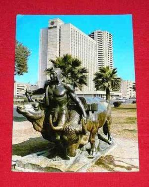 Antigua Postal Lima Sheraton Hotel Y Centro Cívico 1980