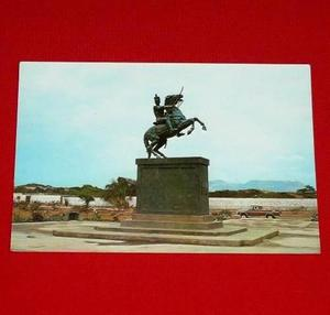 Antigua Postal Monumento José Andrés Rázuri San Pedro D