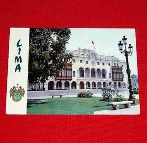 Antigua Postal Municipalidad De Lima Perú 1982 Plaza D