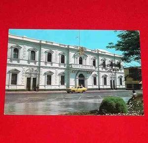 Antigua Postal Municipalidad De Trujillo Perú En Colores