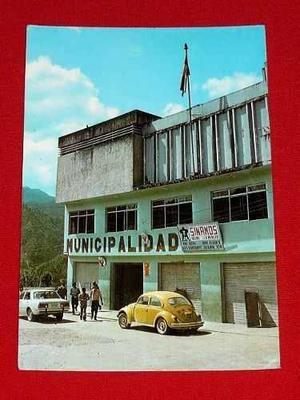 Antigua Postal Municipalidad La Merced Chanchamayo Perú