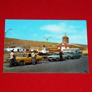 Antigua Postal Plaza De Armas E Iglesia De Ilo Perú Color
