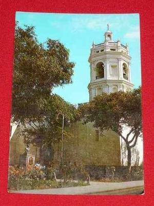 Antigua Postal Plaza San Francisco Trujillo Perú Sin Usar