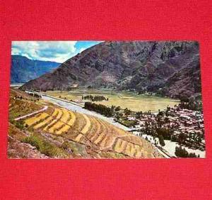 Antigua Postal Valle Sagrado De Los Incas Cusco Perú 1973
