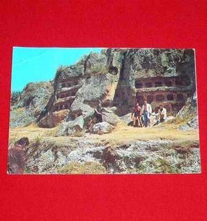 Antigua Postal Ventanillas Ruinas De Otuzco Cajamarca Perú