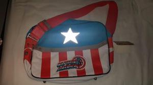Bolso Maletin Capitan America Marvel Comics Retro Original