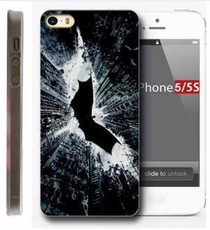 Case Funda Dc Comics - Iphone 5 5s Simbolo Batman Dark Night