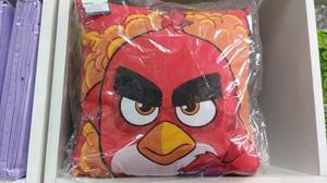 Cojines Almohadas Comics Angry Birds Spiderman Iroman Minion