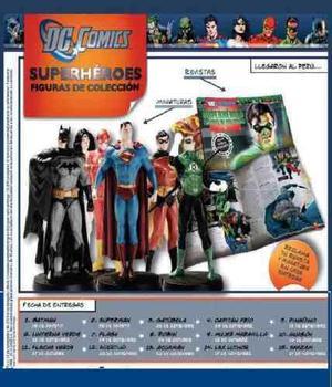 Colección Superheroés Dc-comics - El Comercio 28 Soles C/u
