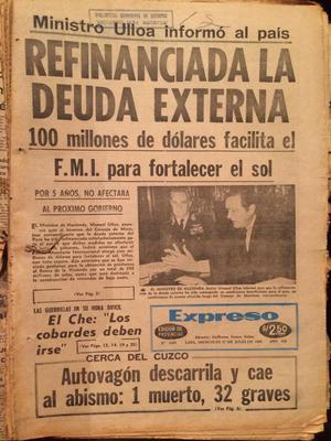 Diario Expreso Julio de