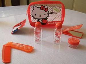 Hello Kitty Set Completo De Porta Cosmeticos.tb Snoopy