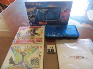 Nintendo 3ds Xl Edición Limitada Pokémon + 100 Juegos