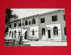 Postal Antigua Hotel De Turistas Piura Perú Swiss Foto B/n