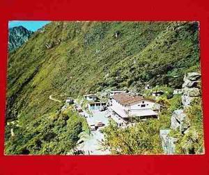 Postal Antigua Machu Picchu 1969 Hotel D Turistas Swiss Foto