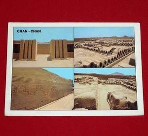 Postal Chan Chan Ruinas Trujillo Perú Photur Walter Morales