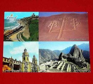 Postal Hotel Carmel Miraflores Perú Costa Verde Catedral
