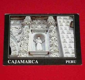 Postal Iglesia San Francisco Cajamarca Perú Inc Concytec