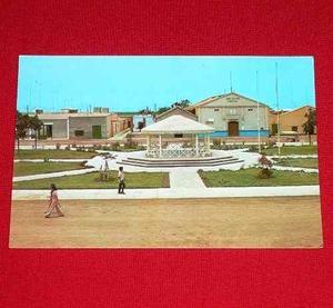 Postal Plaza De Armas Cine Teatro Chiquitoy Trujillo Perú