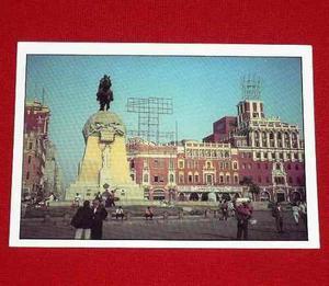 Postal Plaza San Martín Christine Rosenthal Arti Card Perú